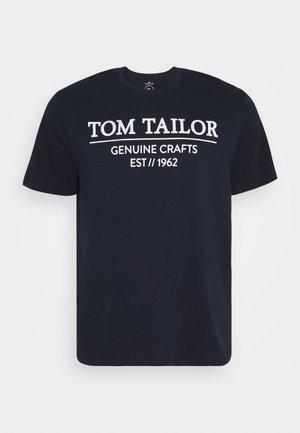 T-shirt print - sky captain blue