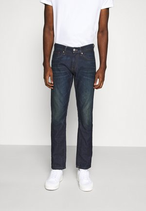 SCANTON SLIM - Slim fit jeans - dark-blue denim
