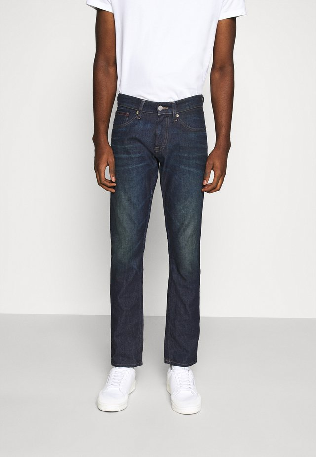 SCANTON SLIM - Vaqueros slim fit - dark-blue denim