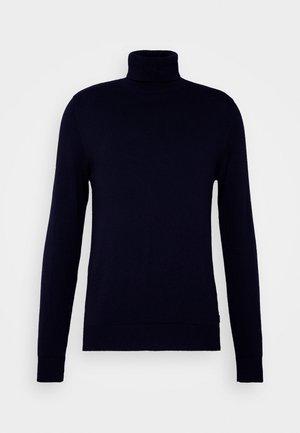 JJEEMIL ROLL NECK  - Jumper - navy blazer