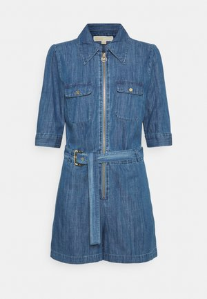 ZIP ROMPER - Jumpsuit - blue demin