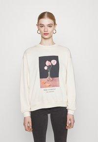 Monki - Sweatshirts - off-white - 0
