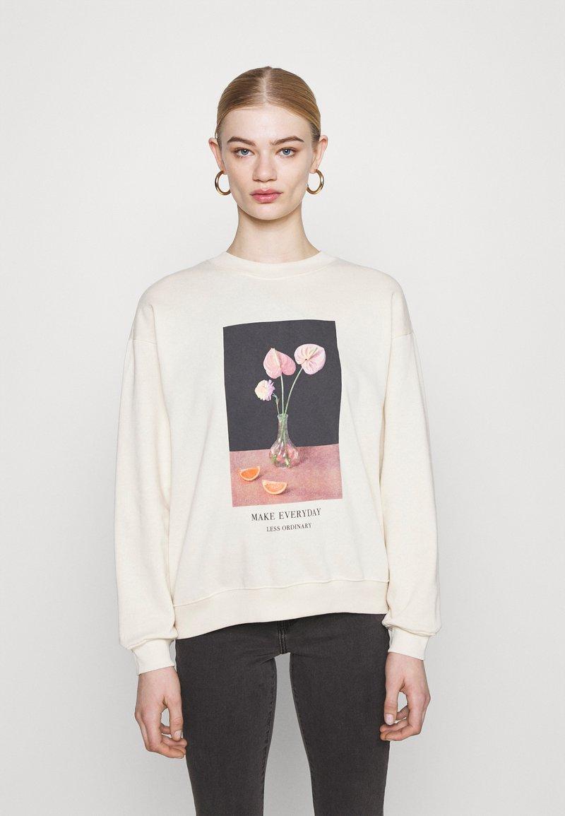 Monki - Sweatshirts - off-white