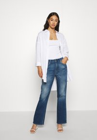 G-Star - CODAM HIGH KICK FLARE 7\8 WMN - Flared Jeans - faded cobalt - 1
