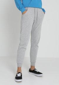 New Look - BASIC BASIC  - Tracksuit bottoms - grey marl - 0