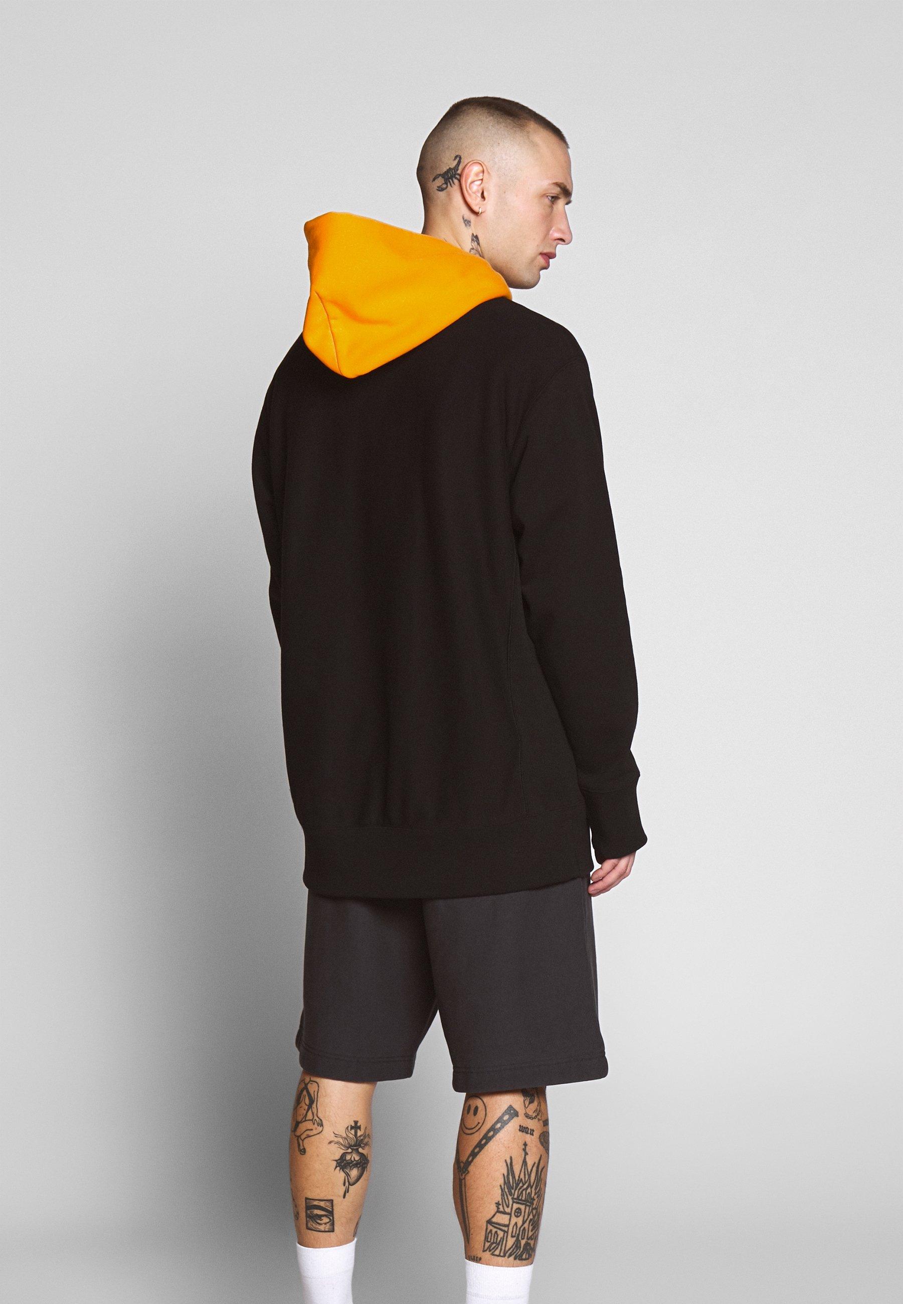 Limpio y clásico Champion Reverse Weave HOODED   Jersey con capucha  black mzYcK