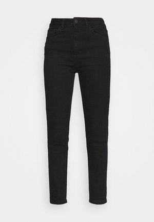 HIGH WAIST SKINNY JEANS - Jeans Skinny Fit - black