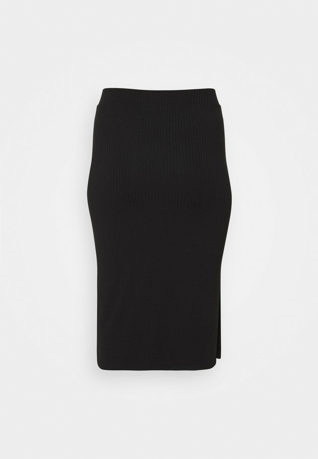 PCKYLIE MIDI SKIRT - Pencil skirt - black