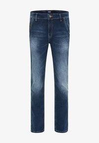 Pioneer Authentic Jeans - STAN - STRAIGHT FIT - Straight leg jeans - stone used - 4