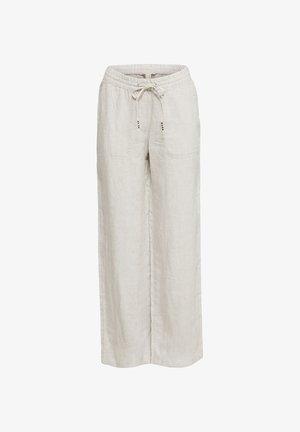 FASHION PANTS - Trousers - light beige