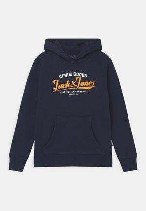 JJELOGO - Hoodie - navy blazer