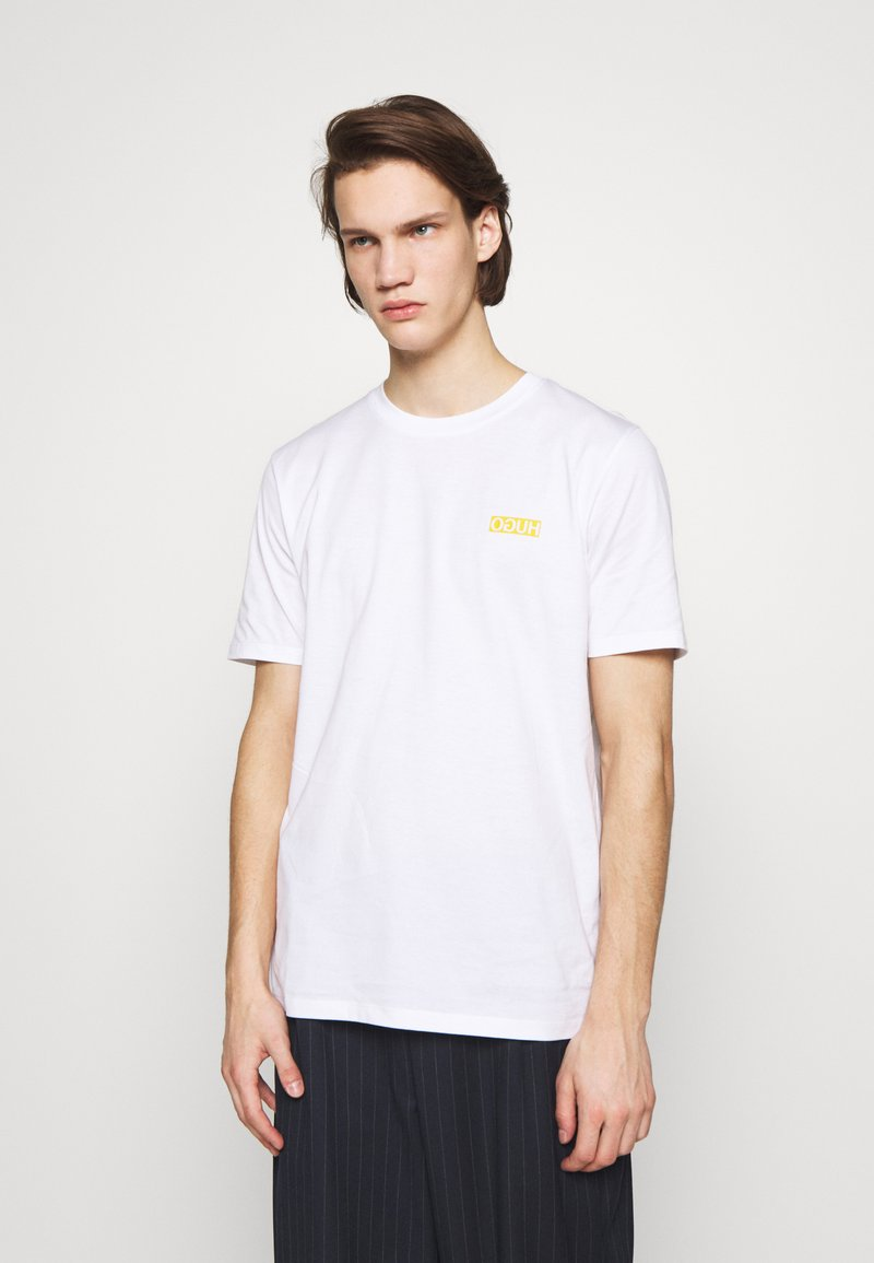 HUGO - DURNED - T-shirt - bas - white