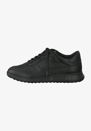 LACE UP - Sneakers laag - black uni