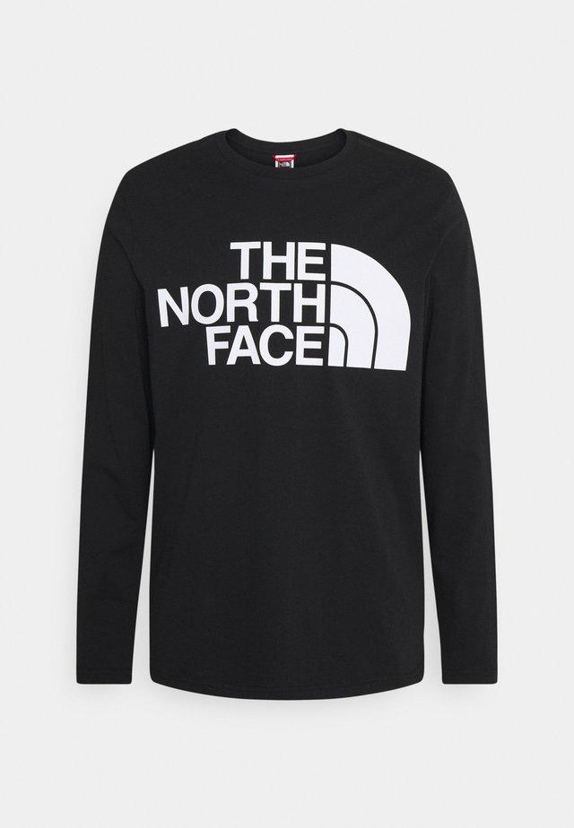 STANDARD TEE - T-shirt à manches longues - black