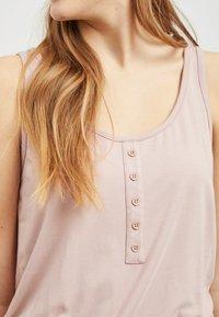 Object - OBJSTEPHANIE MAXI DRESS  - Maxi dress - rose - 4