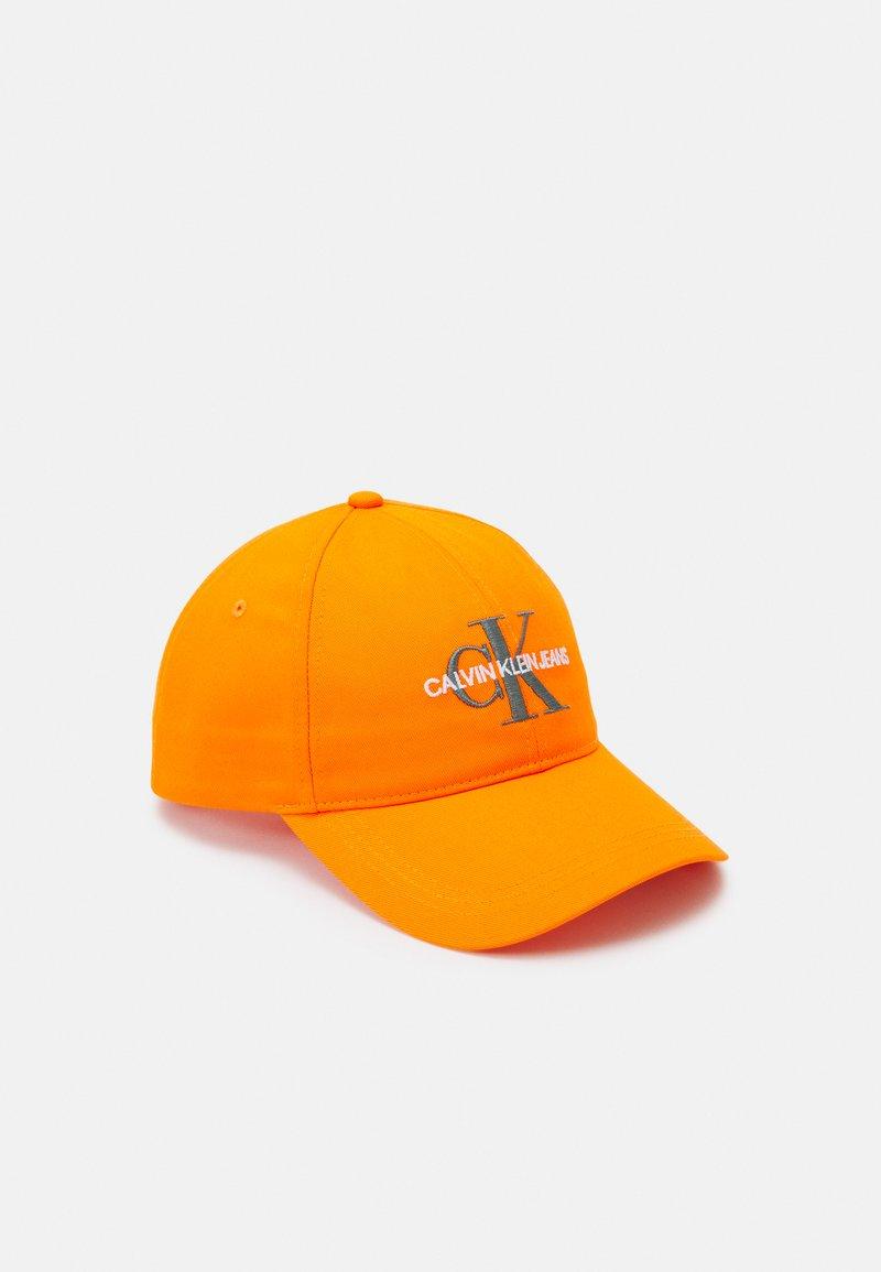 Calvin Klein Jeans - MONOGRAM UNISEX - Czapka z daszkiem - orange