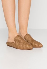 WEEKEND MaxMara - OVIDIO - Ciabattine - taback - 0
