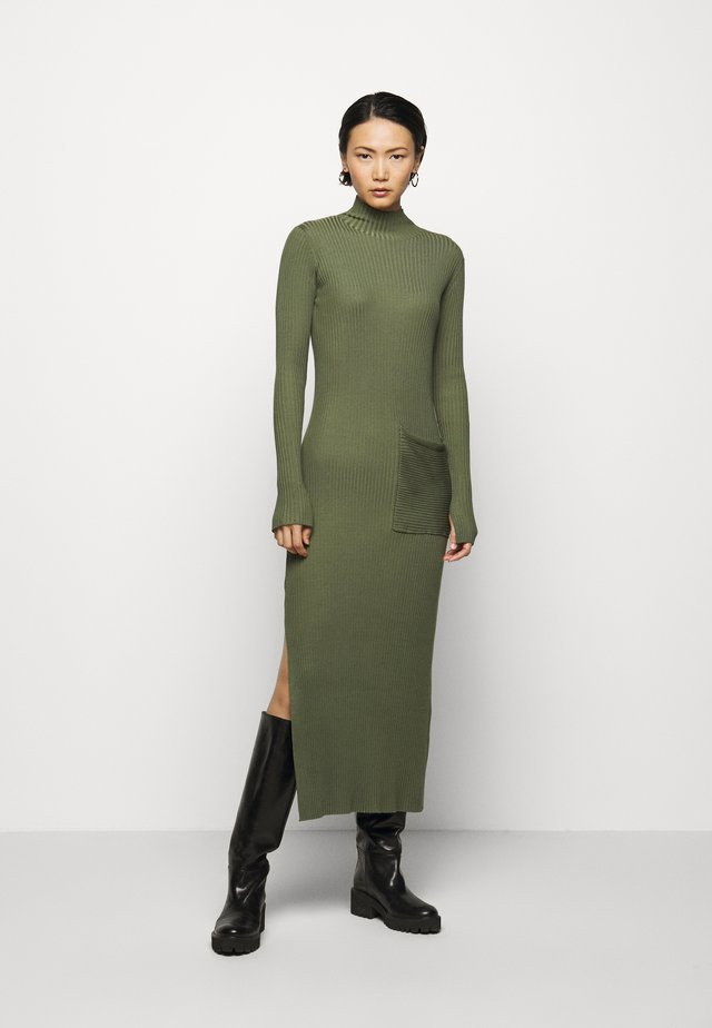NORITT DRESS - Jumper dress - army