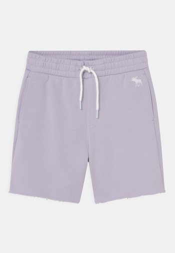 SUMMER RAW HEM - Shorts - lavender