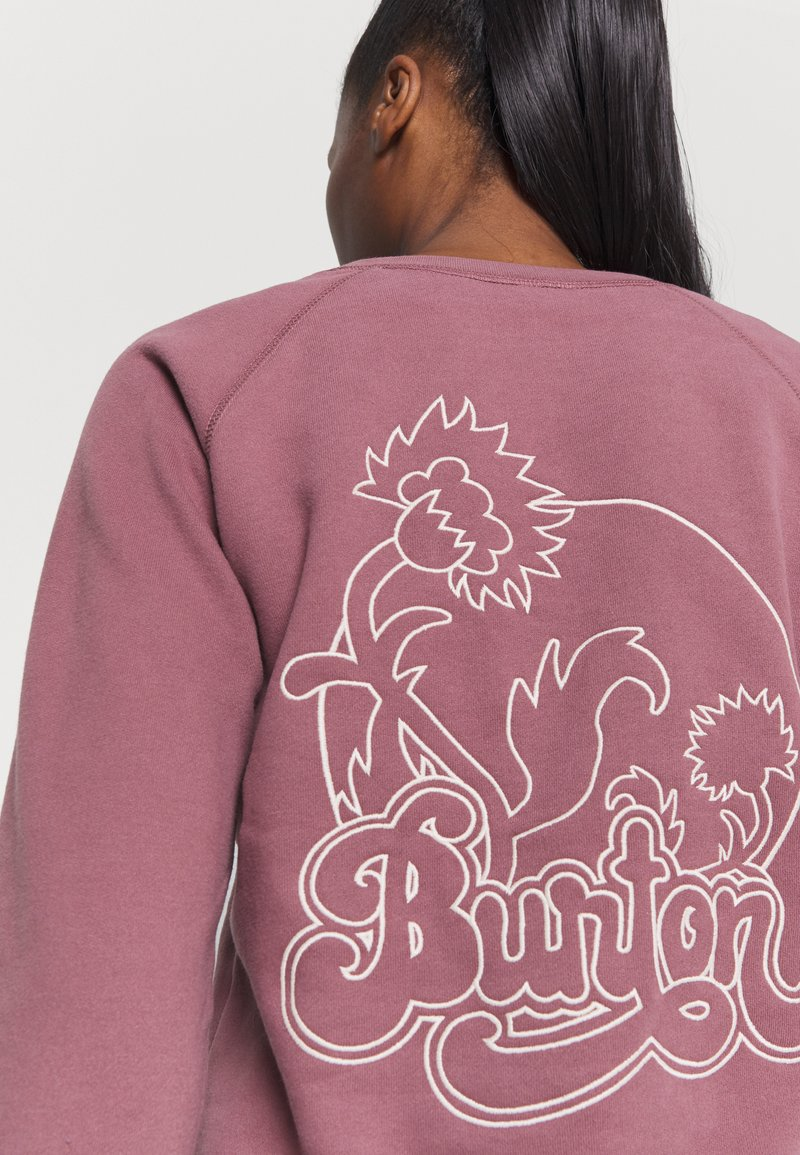 Burton - KEELER CREW - Sweatshirt - rose brown