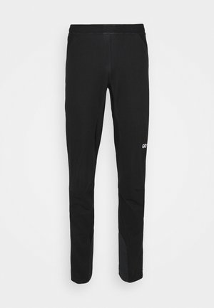WINDSTOPPER TRAIL PANTS - Outdoor trousers - black