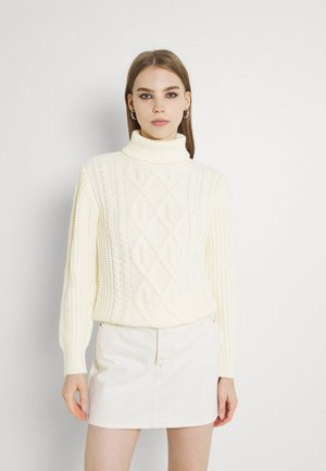 LADIES KNITTED  - Neule - offwhite