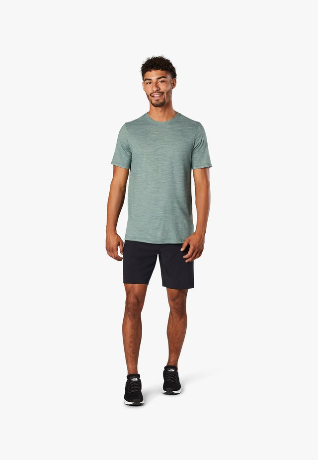 T-shirt basic - sage heather