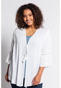 Ulla Popken - Summer jacket - offwhite - 0