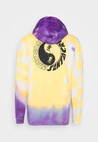 Santa Cruz - YING YANG HOOD UNISEX - Hoodie - yellow/purple - 1
