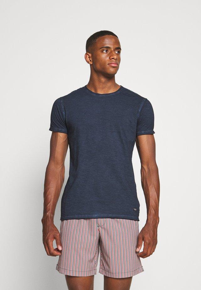 CLAYTON - T-shirt basic - navy