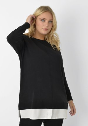 2 IN 1 - Jumper - black