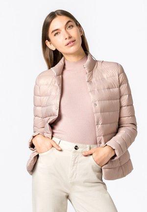 Down jacket - zartrosa