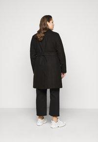 New Look Curves - JORDAN BELTED COAT - Classic coat - black - 2