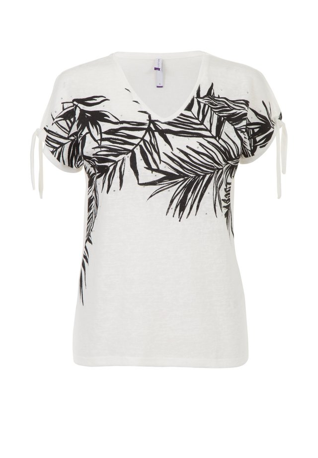 ETAM REGULIER RE - T-shirt print - multi off-white