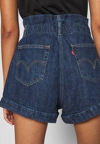 Levi's® - HR PAPERBAG SHORT - Jeans Short / cowboy shorts - fused - 6