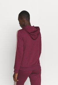 adidas Performance - Zip-up sweatshirt - victory crimson/halo blush - 2