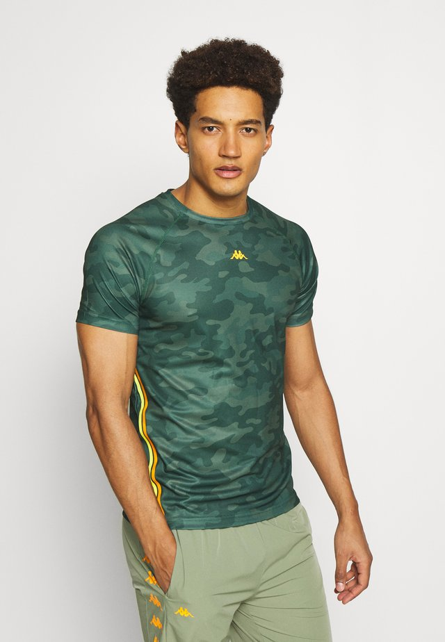 IRAL - T-shirt con stampa - duck green