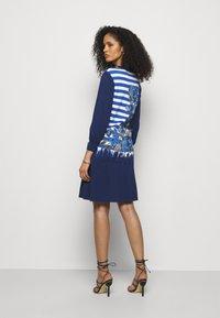 Alberta Ferretti - DRESS - Pletené šaty - blue - 2