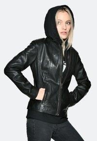 JCC - Leather jacket - black - 0