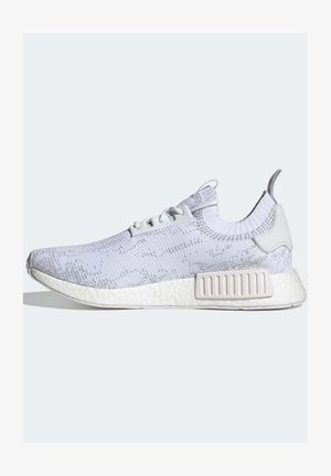 NMD_R1 Primeknit NMD BOOST ORIGINALS SNEAKERS SHOES - Trainers - white