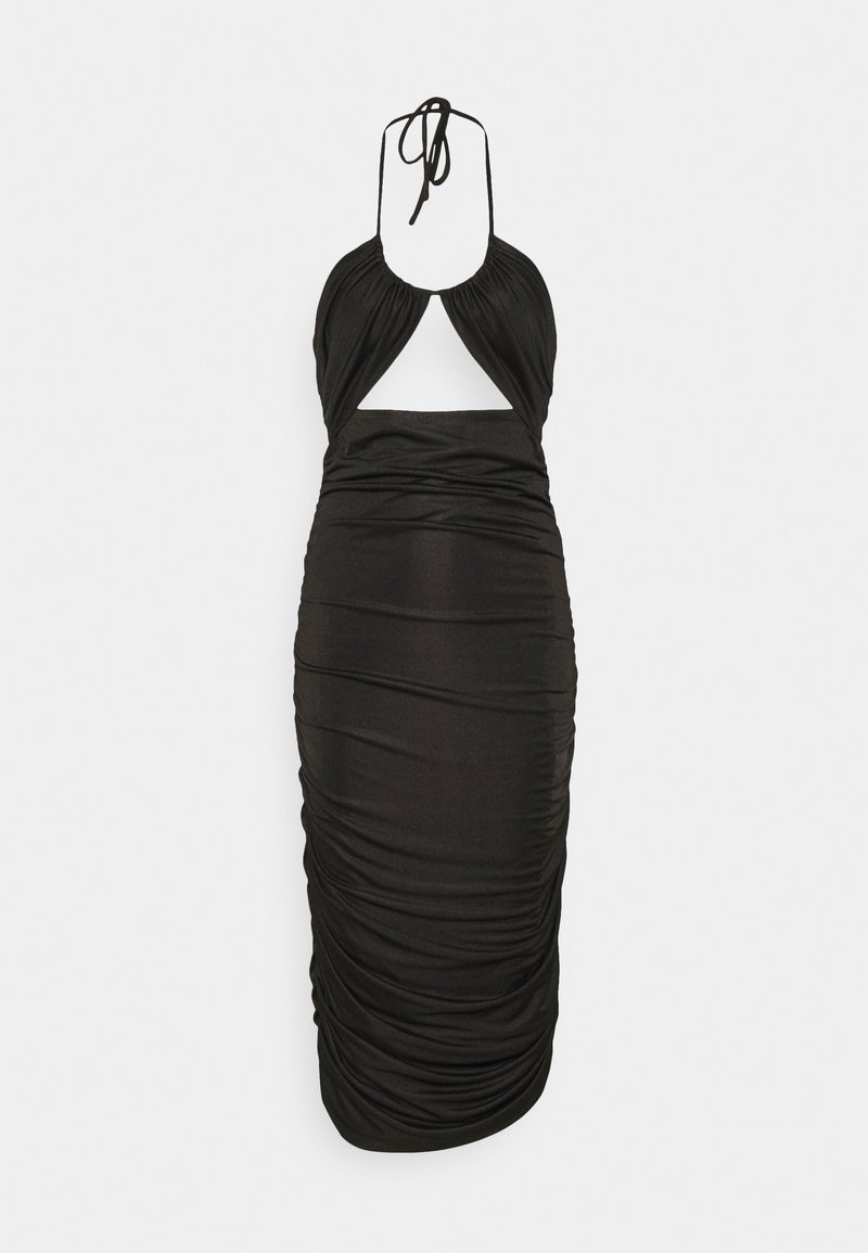 Third Form - LEAD ON HALTER MIDI - Cocktail dress / Party dress - black