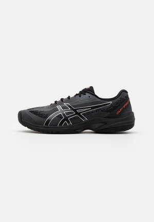 COURT SPEED  FF - All court tennisskor - black/sunrise red