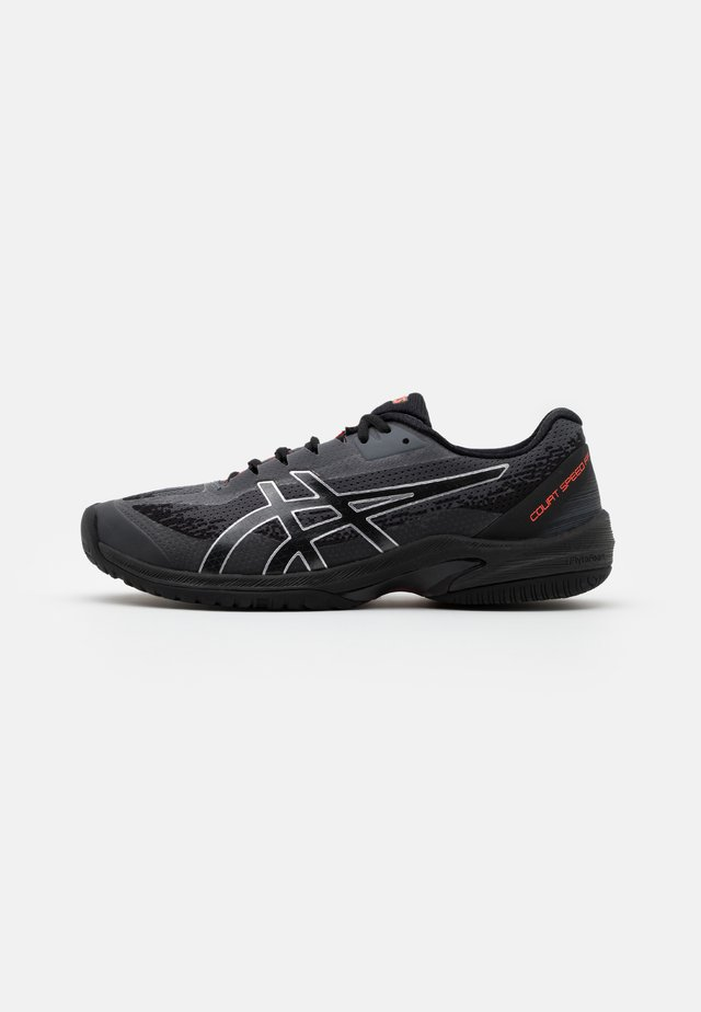 COURT SPEED  FF - Multicourt tennis shoes - black/sunrise red