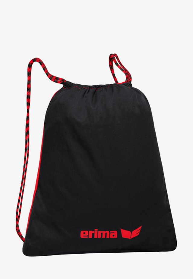Sports bag - rot / schwarz
