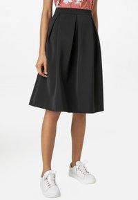 HALLHUBER - A-line skirt - black - 0