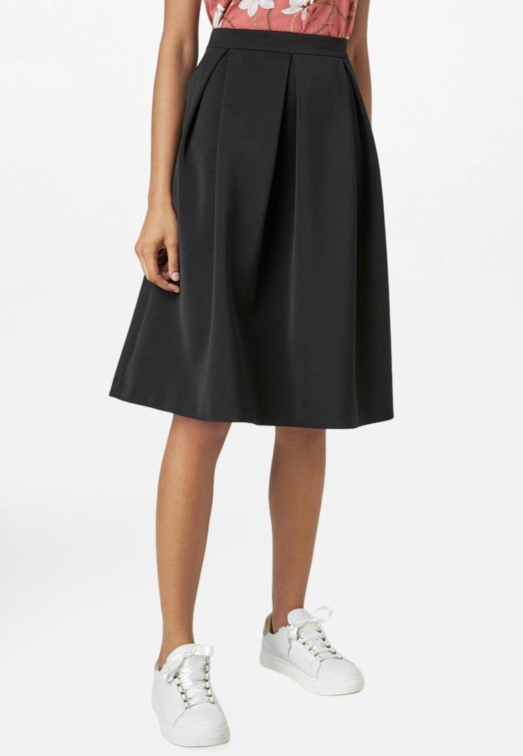 HALLHUBER - A-line skirt - black