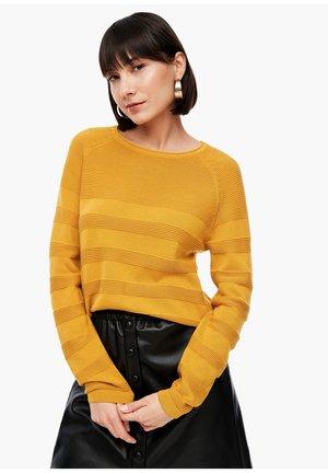 Jumper - golden yellow