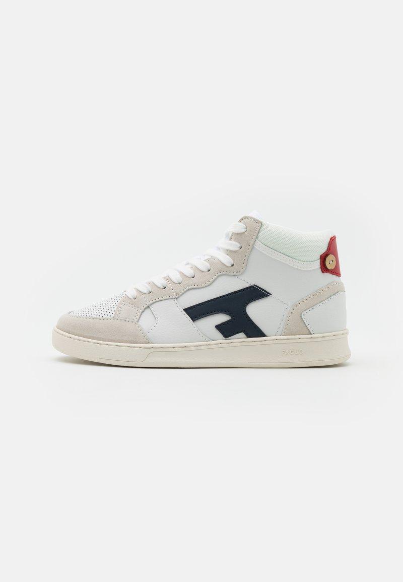 Faguo - HAZELHI BASKETS UNISEX - High-top trainers - white/navy