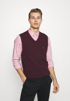 STRUCTURE VEST - Jumper - red