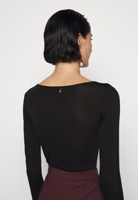 Patrizia Pepe - BODY - Long sleeved top - nero - 3